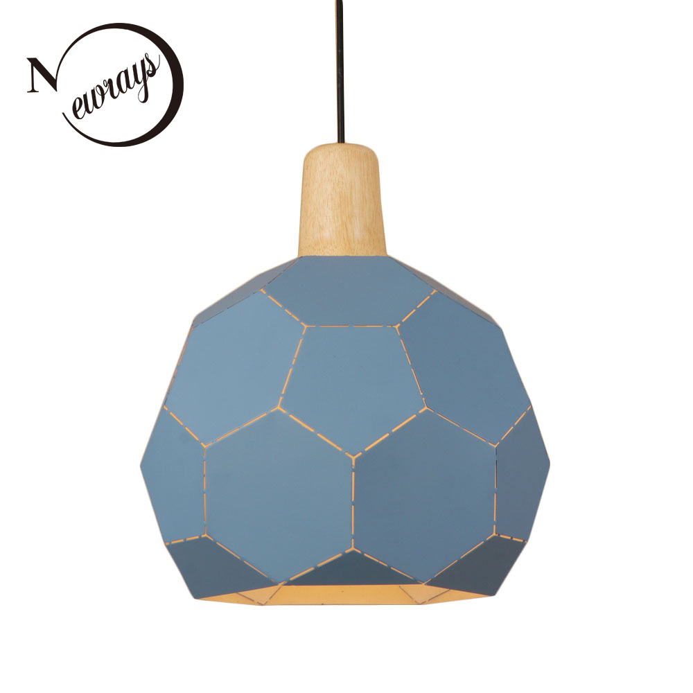Loft Europe pendant light LED E27 modern creative hanging lamp with 3 colors for living room shop dining room hotel restaurant post modern golden led pendant light creative suspension lighting fashion dining room living room hotel hanging lamp