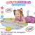 Russa Alfabeto Esteira Do Jogo Do Bebê Playmat Musical Agradável Animal Sounds Aprendizagem Educacional Brinquedo Do Bebê Presente de Natal para Crianças Crianças