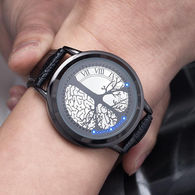 Creative Concept font b Smart b font font b Watches b font Minimalist Black and White