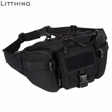 Men Waterproof Waist Military Bag Hiking Fishing Hunting Camping Travel Hip Bum Belt #Ne(China)