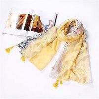 1 unids estilo primavera mujer Niñas bufandas de Cachemira larga cebra impreso poliéster bufanda um cachecol feminino nuevo multi- color