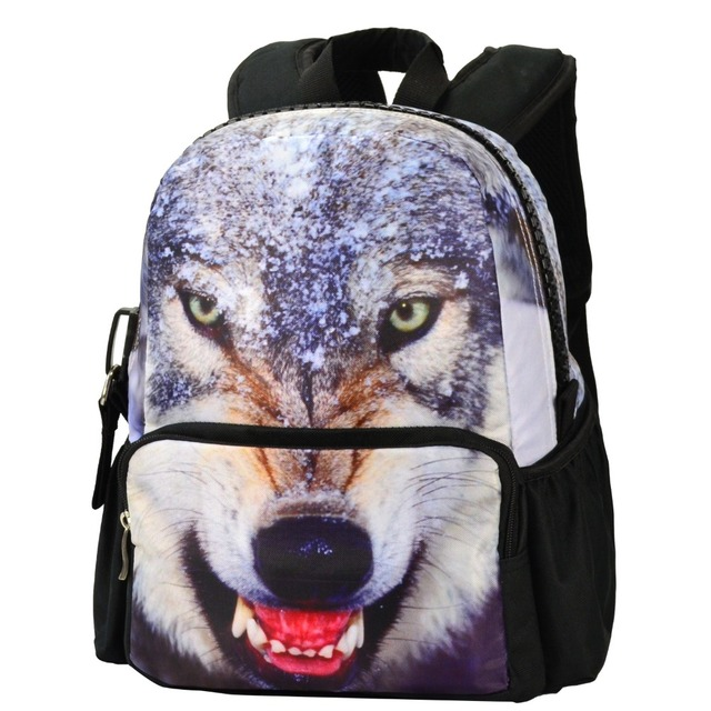 Bistar Brand Backpack Women The Latest Girl Fashionable Backpack The Snow  Wolf Pattern Simple Elegant Atmospheric 27de4faf7b