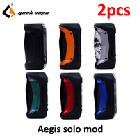 2pcs/lot GeekVape Aegis Solo mod 100W Vape Electronic Cigarette box Mod NO 18650 Battery vs aegis mod aegis mini in stock