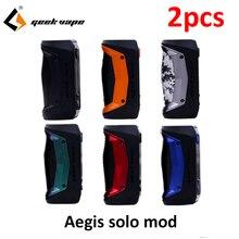 2pcs/lot GeekVape Aegis Solo mod 100W Vape Electronic Cigare