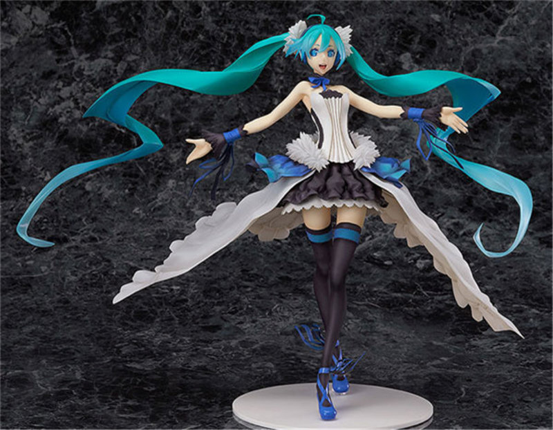 25CM Hatsune Miku Action Figure Singing Anime Beauty Collectible Model Toy Birthday Gift