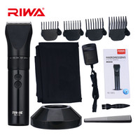 Super Quiet Professional Rechargeable Hair Trimmer Sets Electric Hair Clippers For Men Ceramic Blade Rechargeable Beard