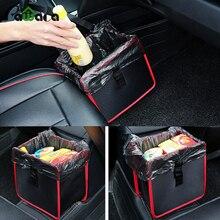 Практичный складной Оксфорд авто сумка для хранения для игрушки одежда сиденье пряжки Мусорка внедорожник багажник органайзер для автомобиля мешок для мусора