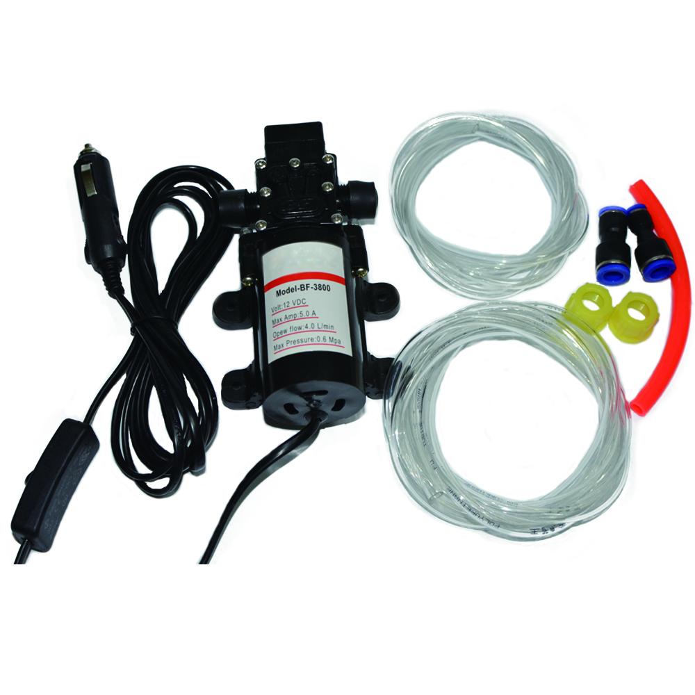 Prix pour (Russie Entrepôt) 60 W voiture de pompage pompe hydraulique changer la pompe à huile pompe de lavage de voiture