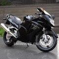 1:12 diecast metal modelo toys honda cbr1100xx motocicleta moto deportiva replica