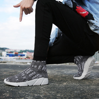 Couples Running Shoes Camouflage High Top Sneakers for Male Autumn Winter Women Sport Shoes High Top Lightweight Walking Shoes