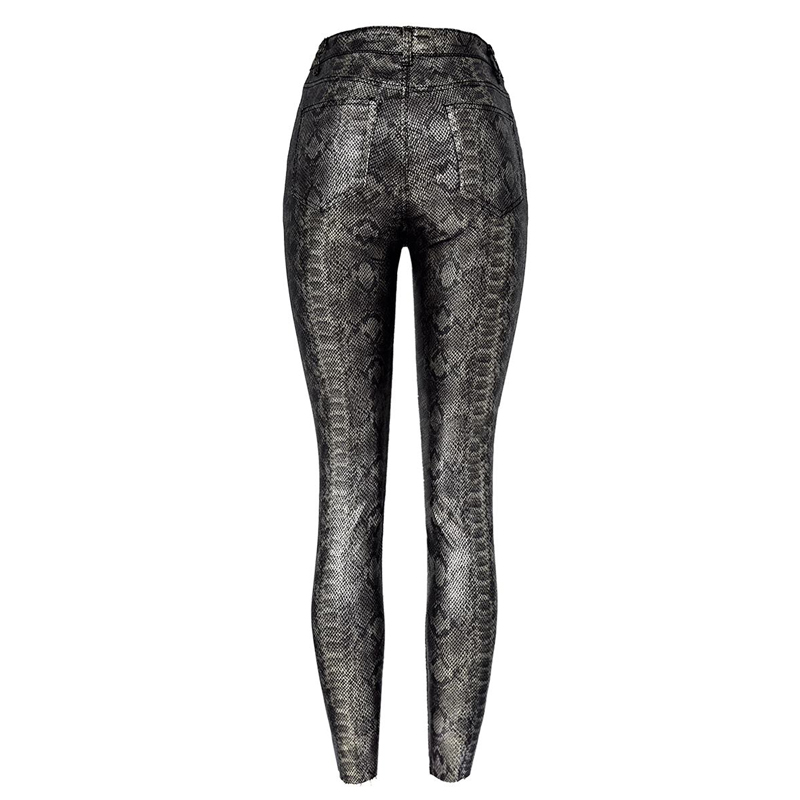 19 Winter Plus Size Stretch PU Leather Pants For Women High Waist Joggers Womens Trousers Pencil Skinny Waisted Female Pants 53