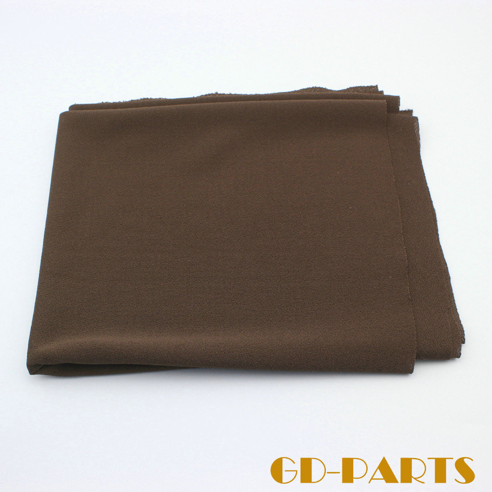 0.5x1.8m/lot Brown Acoustic Grill Cloth Dustproof Fabric For Guitar Amplifier Speaker Cabinet Front