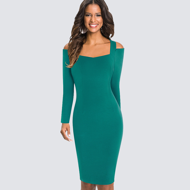 Long Fitted Club Dresses