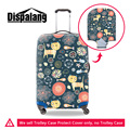 Dispalang cute cartoon drawing protective suitcase cover for 18 to 30 inch brand designer animal elastic stretch luggage covers