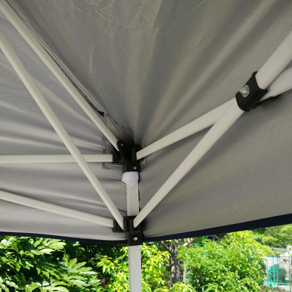 Fotografia scenic 10'x10 Barraca de Camping Dobrável Fácil Pop Up Gazebo do Dossel Pavilhão Pátio Ao Ar Livre Tenda Do Casamento Do Partido Do Evento com Saco Azul EUA Estoque - 5