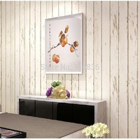 Vintage Simple Style Surface Striped Nonwoven wall paper 3D desktop Wallpaper papel de parede decoration tapete 53x1000cm