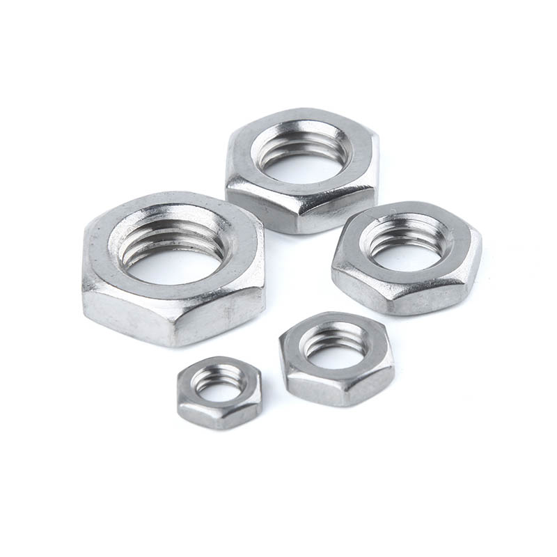 10Pcs 304 stainless steel nut flat thin nut M3M4M5M6M8 thin nut10Pcs 304 stainless steel nut flat thin nut M3M4M5M6M8 thin nut