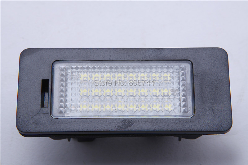 LED License Plate Light White CREE LED Chips Number Licence Plate Light Rear Tail Lamp for B MW E88/E90/E92/E93/E39/E60/E70 2x e marked obc error free 24 led white license number plate light lamp for bmw e81 e82 e90 e91 e92 e93 e60 e61 e39 x1 e84