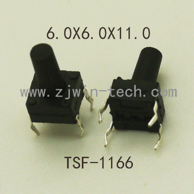 10PCS 6x6x11mm Waterproof Button Switch 4PIN DIP Key Button Momentary Tactical Micro Button Switch