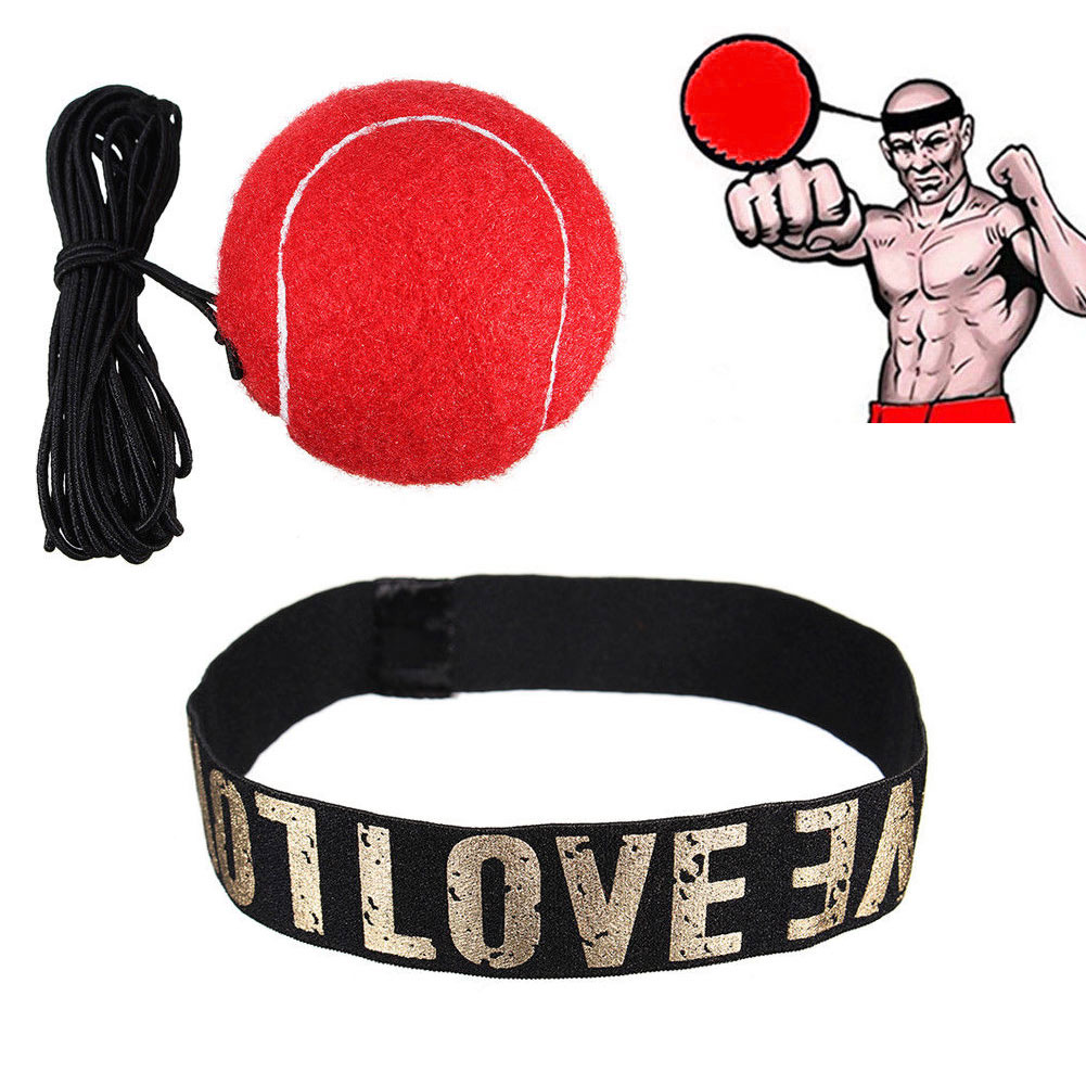 Punching Speed Fight Balls Head Band For Reflex Reaction Speed Training Boxing Exercise Fitness Training Equipment Body Building