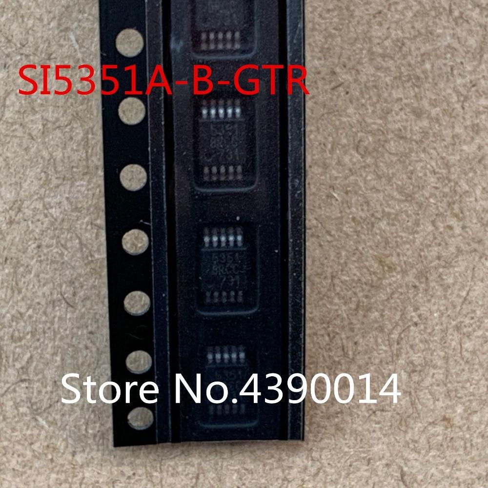 100 pcs/lot SI5351A SI5351A-B-GTR 5351 MSOP10100 pcs/lot SI5351A SI5351A-B-GTR 5351 MSOP10
