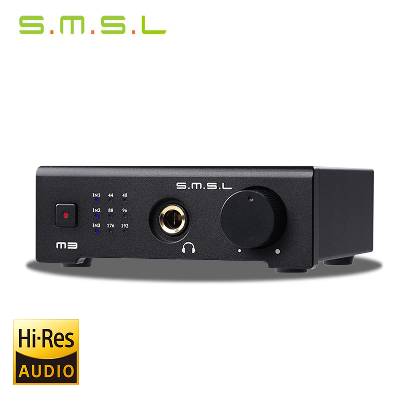 NEW SMSL M3 HIF 2.0 24bit/192kHz DAC USB / optical / coaxial / Decoder Headphone audio amplifier smsl m3 dac headphone amplifier amp cs4398 otg pc usb optical coaxial all in one hifi 24bit 96khz usb hd for audio decoder