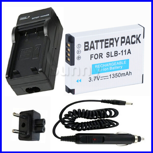 SLB 11A Battery Charger for SAMSUNG CL80 EX1 HZ25W HZ30W HZ35W HZ50W TL240 TL 240 TL320