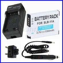 Slb-11a bateria + carregador para samsung cl80, EX1, HZ25W, HZ30W, HZ35W, HZ50W, TL240, TL-240, TL320, TL350, TL-350, TL500, TL-500 Câmera Digital