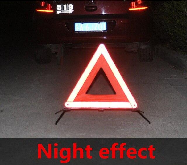 Car Rear Warning Board Stop Vehicle Danger Reflective Emergency