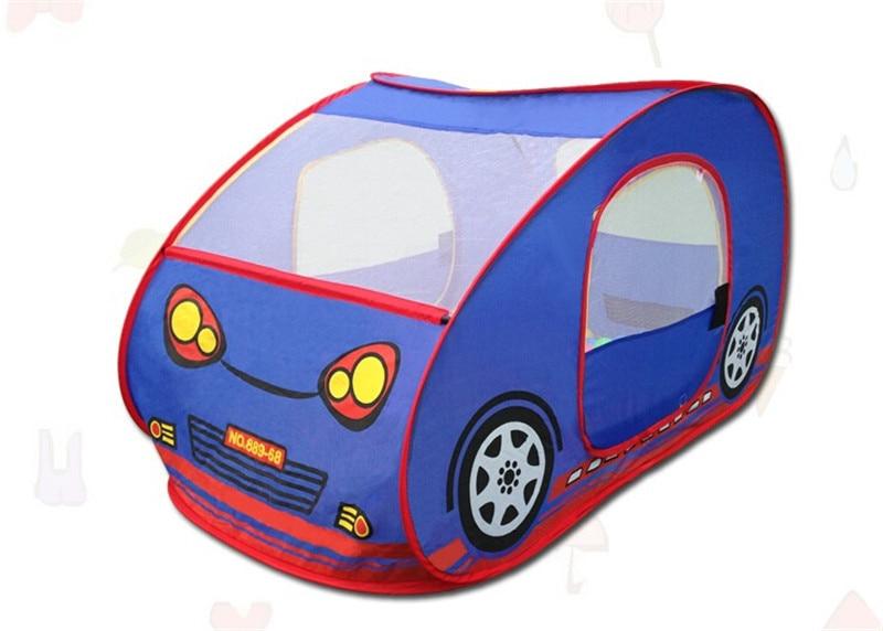 Modèle de voiture enfants tente jouer maison intérieure extérieure jouets, tente de jeu Portable pour le cadeau d'anniversaire des enfants