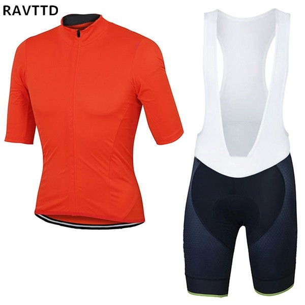 b7ca10fd0 2018 Red Colour Men Cycling Jersey Short Sleeve MTB Cycle Clothes Ropa  Ciclismo Cycling Sportswear Racing Bike Clothing