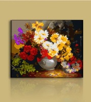 2014 Digital Coloring By Numbers Handpainted Canvas Pictures Oil Painting For Living Room Home Decor Still