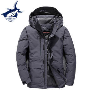 c4495ed6f78 Tace Shark Men s Winter White Duck Down Jacket Black
