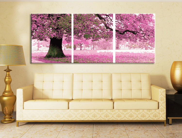 framed 3 piece canvas wall art sets digital oil painting by numbers unique gift pictures. Black Bedroom Furniture Sets. Home Design Ideas