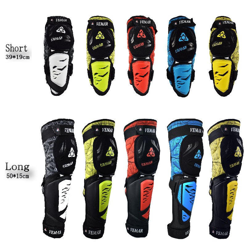 Fireproof Knee Protector Motorcycle Gear Set Men Moto Protect Adjustable Pads Bike Kneepad Brace Armors Off-road MTB DH Guards