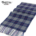 za plaid women scarf in winter fashion knitted scarves classical plaid scarf for men imitation cashmere scarves tassel hijab