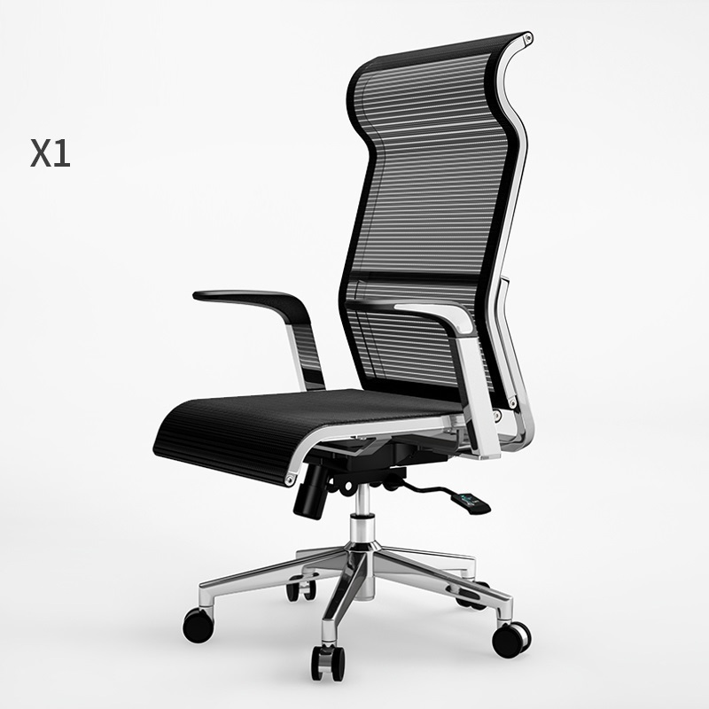 WB# 3631 Sihoo West Hao ergonomic computer gaming household cloth boss breathable office chair 240337 ergonomic chair quality pu wheel household office chair computer chair 3d thick cushion high breathable mesh
