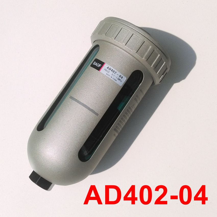 Auto Drain Air Source Treatment Pneumatic Components AD402-04 G1/2'' Water Trap for Automatic Drainage Pipes japan smc original genuine source of gas source processor ad402 04 end of the automatic drain water separator
