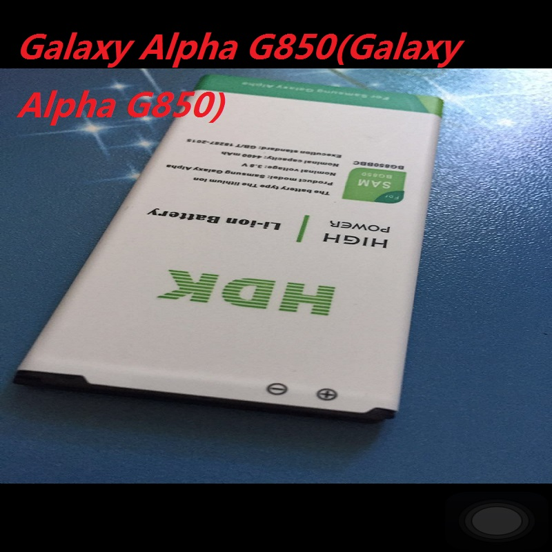 NFC 4400 MAH EB BG850BBC EB BG850BB Replacement Battery For SamSung Galaxy Alpha G850 G850F G8508