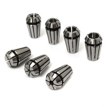 High Quanlity 7pcs/Set ER11 1-7mm Spring Collet Set Chuck for CNC Milling Lathe Tool