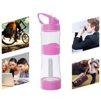 Bike Bicycle Cycling Water Bottle Outdoor Spor Portable Water Bottle 500mL BPA Free Leakproof Outdoor Sports