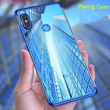 Full Cover Plating Case for Xiaomi Mi 9 Pocophone F1 Soft TP