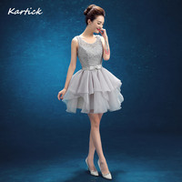 New Short Evening Dresses Bride Gown With Sashes Glamorous One Shoulder Ball Prom Party Homecoming Graduation