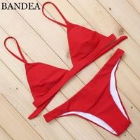 BANDEA 2017 Latest Style Brazilian Bikini Women Sexy Low Waist Swimwear Hot Beach Women Sexy Swimsuit