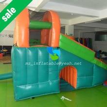 MZQ 4.5X4.5 kids inflatable bouncer slide,inflatable combo,inflatable water slide with pool,inflatable pool slide