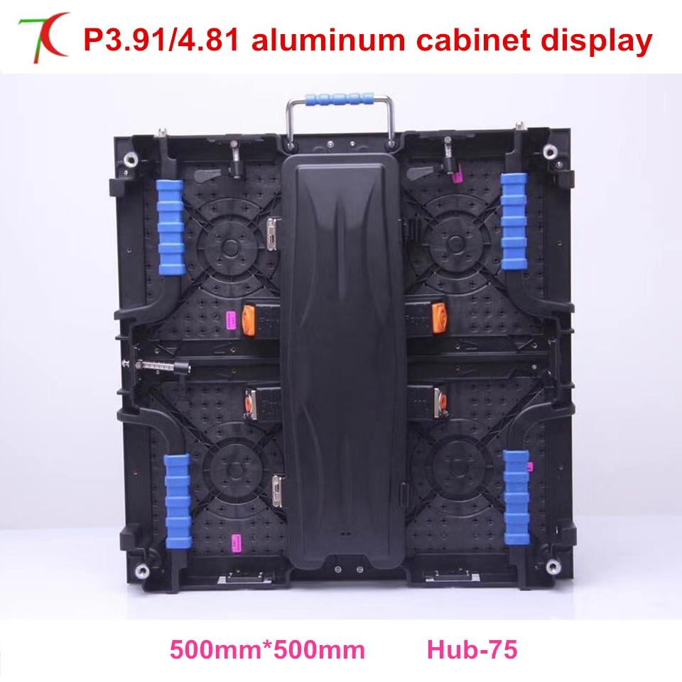 Special  500*500mm P4.81 indoor rental aluminum cabinet display screen,smd2121Special  500*500mm P4.81 indoor rental aluminum cabinet display screen,smd2121
