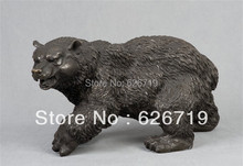 ATLIE BRONZES  High Quality Casting Bronze Bear Statues Home Decoration New Year Present  Christmas Gifts