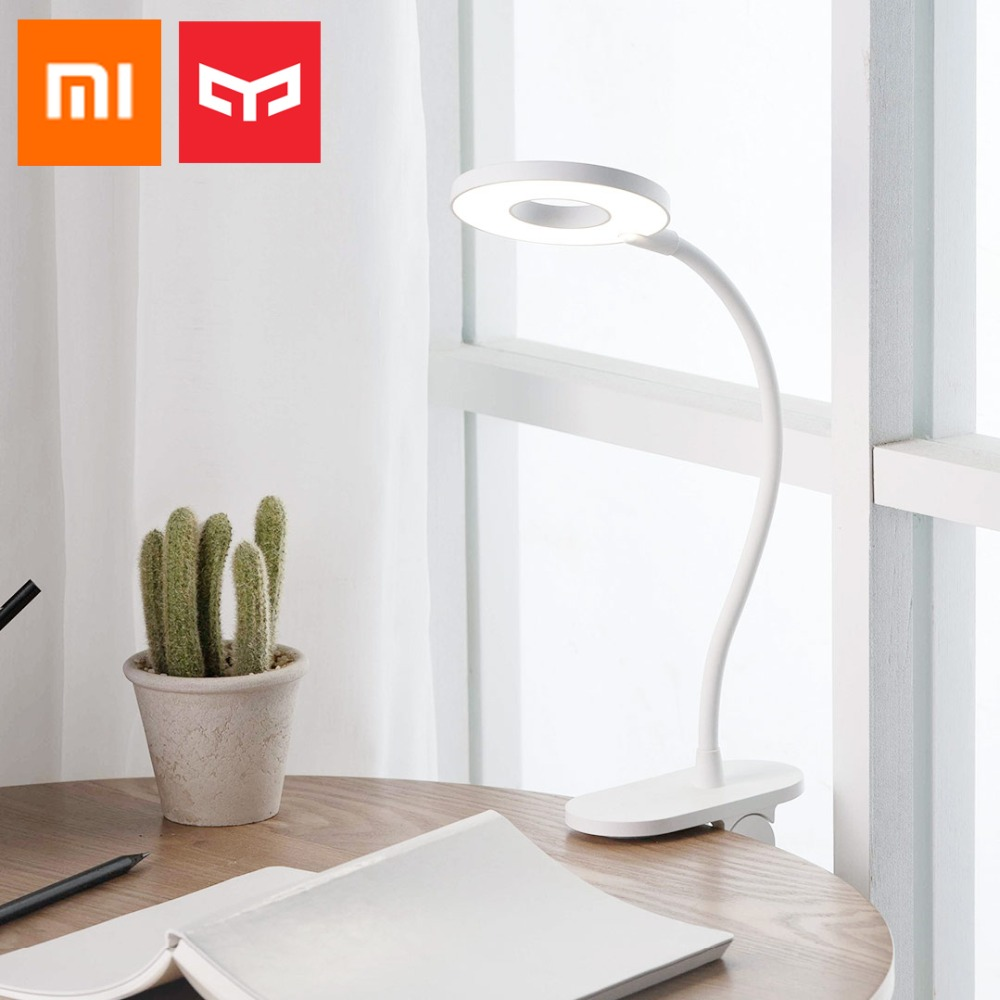 Xiaomi Yeelight LED 3 Modes Clip Desk Lamp Eye Protection Desk Light Touch Switch Dimmer Lithium Battery USB Charging Table Lamp
