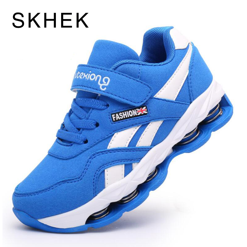 SKHEK 2018 Autumn Children Shoes Boys Girls Air Cushion Shoes Comfortable Kids Fashion Sneakers Child Sports Shoes 2018 autumn children shoes boys girls air cushion shoes comfortable kids fashion sneakers child sports shoes