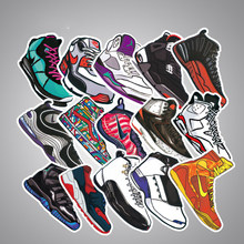 100PCS HOT Not Repeating Stickers for Kids Laptop Car Decal Fridge Skateboard Fashion Jordan Graffiti Cool Waterproof Stickers()